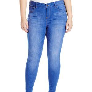 20 Celebrity Pink Midrise Skinny Jeans Blue Lagoon